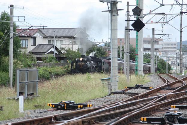 Photos: 秩父鉄道 パレオエクスプレス 5001レ C58 363+12系客車4B 秩父~御花畑 (1)