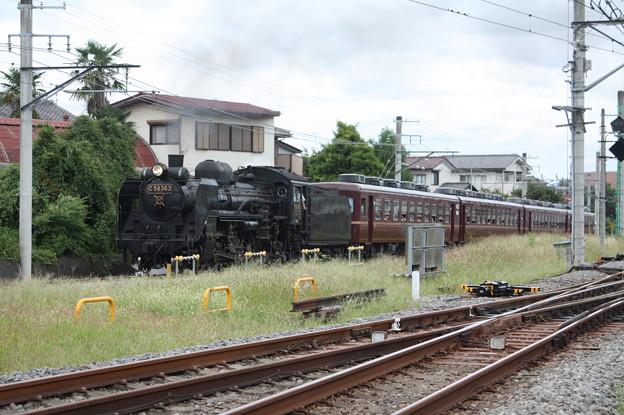 秩父鉄道 パレオエクスプレス 5001レ C58 363+12系客車4B 秩父~御花畑 (8)