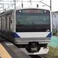 常磐線 E531系K458編成 346M 普通 上野 行