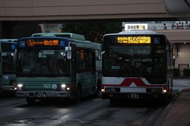 仙台市営バス・宮城交通