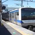 常磐線 E531系K414編成 346M 普通 上野 行 (1)