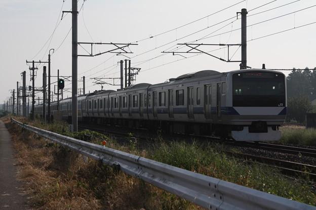 常磐線 E531系K408編成 1152M 普通 品川 行