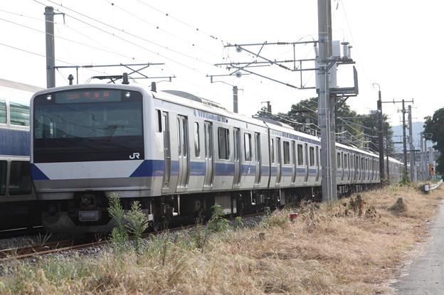 常磐線 E531系K412編成 383M 普通 水戸 行