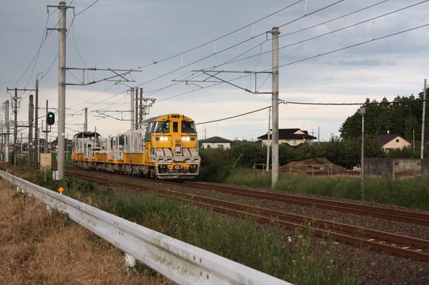 試9372D キヤE195系LT-1編成3B 常磐線試運転 (3)