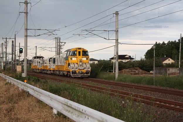 試9372D キヤE195系LT-1編成3B 常磐線試運転 (4)