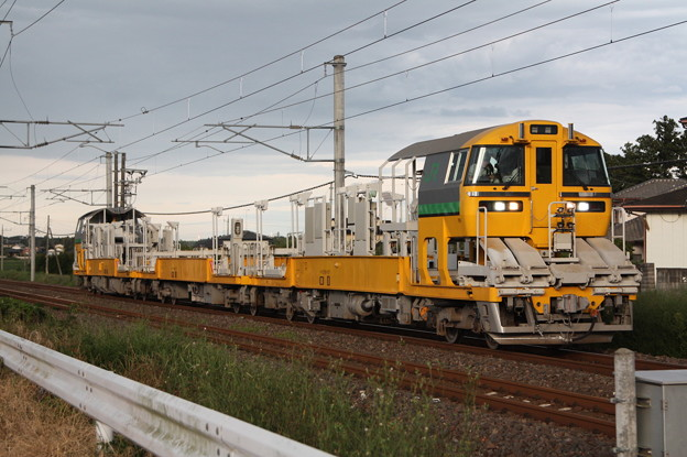 試9372D キヤE195系LT-1編成3B 常磐線試運転 (10)