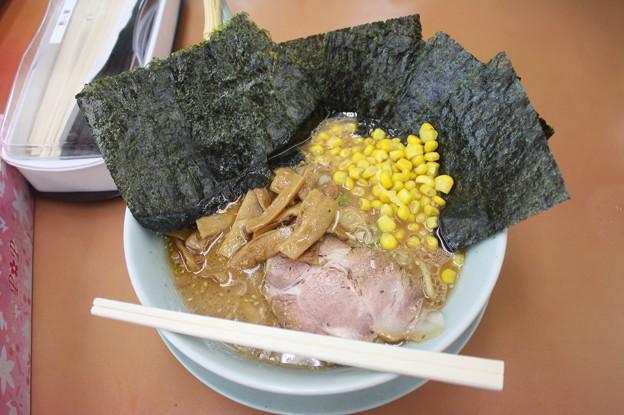 ラーメン山岡家 味噌ラーメン メンマ・コーン・海苔 トッピング
