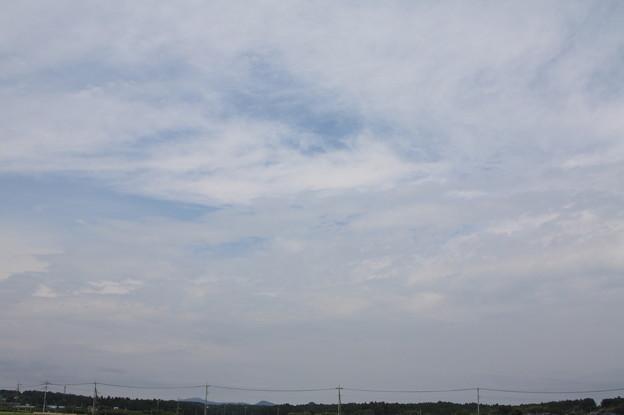 夏の曇り空 20180828_24