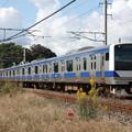 水戸線 E531系3000番台K551編成 737M 普通 勝田 行