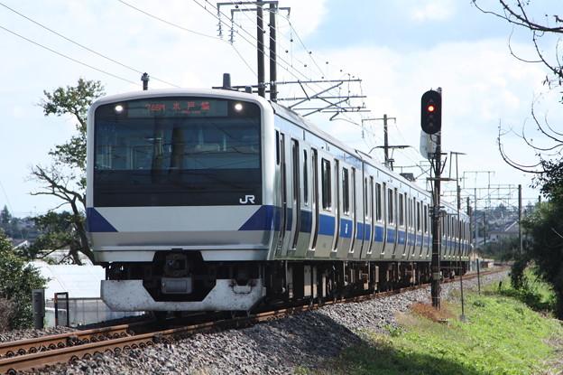 水戸線 E531系K472編成 746M 普通 小山 行