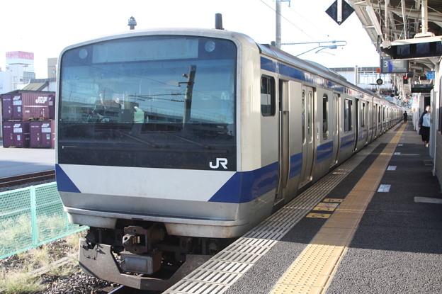 常磐線 E531系K423編成 346M 普通 上野 行 (1)