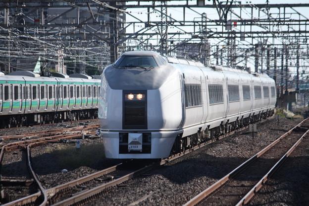 651系K103編成 9426M 臨時快速ぶらり川越号 川越 行 (1)