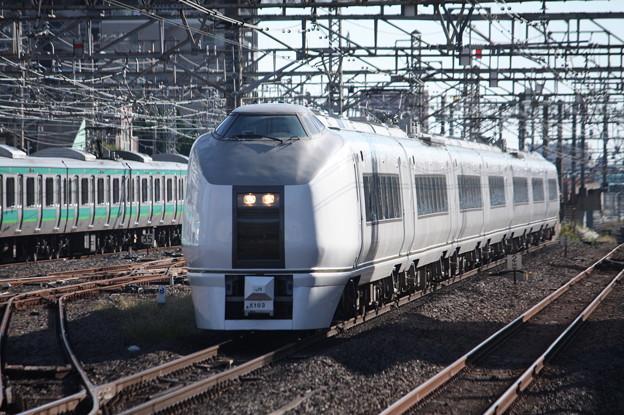 651系K103編成 9426M 臨時快速ぶらり川越号 川越 行 (2)