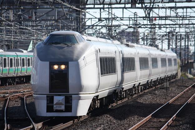 651系K103編成 9426M 臨時快速ぶらり川越号 川越 行 (5)