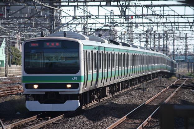 常磐快速線 E231系マト112編成