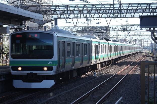 常磐快速線 E231系マト112編成 (1)