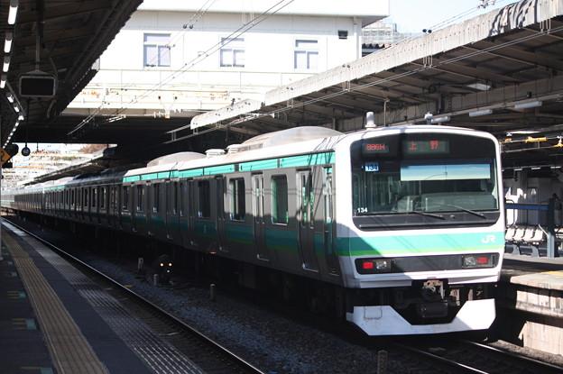 常磐快速線 E231系マト134編成