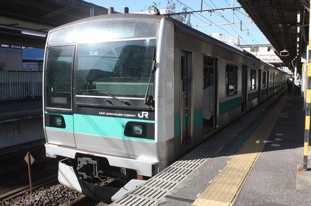 常磐緩行線 E233系2000番台マト3編成