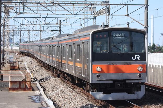 武蔵野線 205系5000番台ケヨM21編成 (2)
