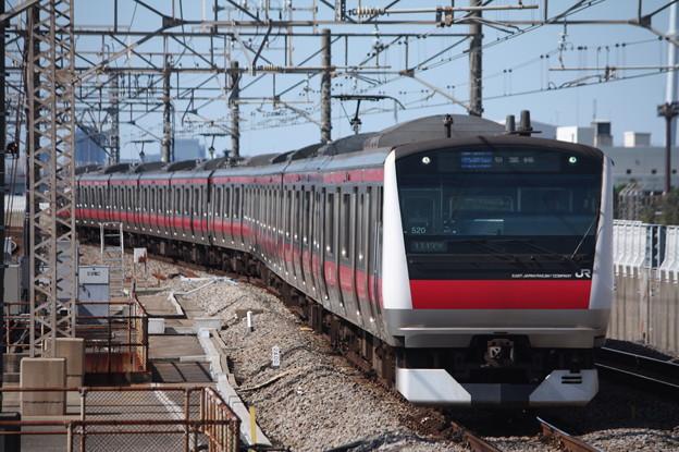 京葉線 E233系5000番台ケヨ520編成 (1)