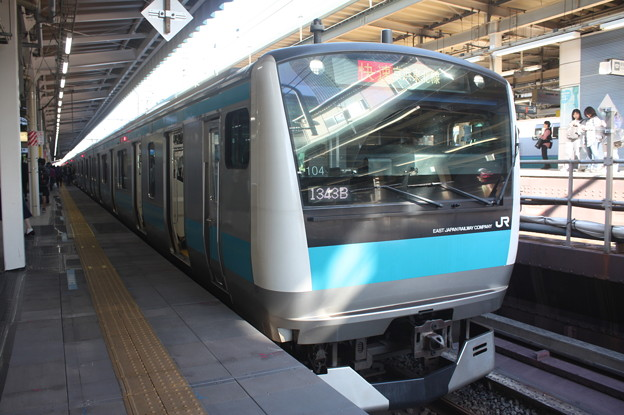 京浜東北線 E233系1000番台サイ104編成 (1)