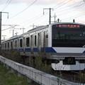 常磐線 E531系K411編成 387M 普通 水戸 行