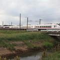秋の田園風景を行くE657系 (2)