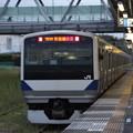 水戸線 E531系K451編成 757M 普通 勝田 行 (1)