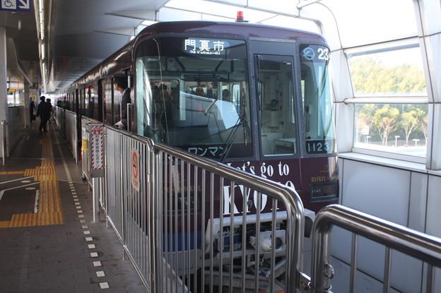 大阪モノレール1000系1123F