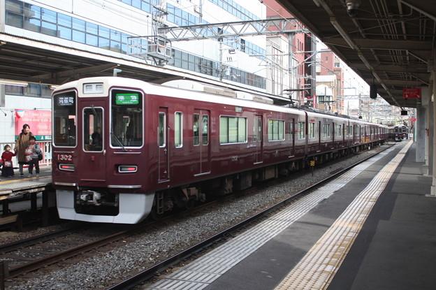 阪急京都線 1300系1302F