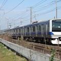 常磐線 E531系K402編成 394M 普通 上野 行