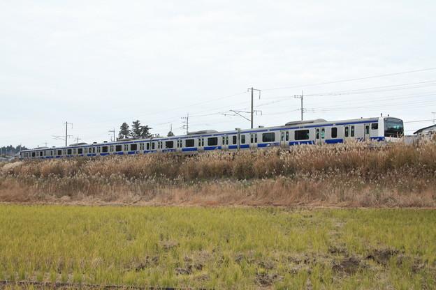 水戸線 E531系 (8)