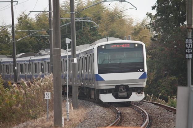 水戸線 E531系K467編成 742M 普通 小山 行