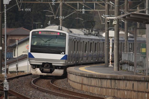 水戸線 E531系K467編成 742M 普通 小山 行 後追い (5)