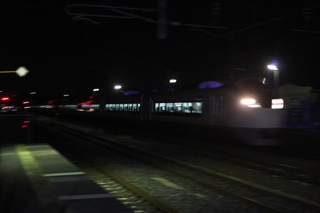E657系 84M 特急ときわ84号 品川 行