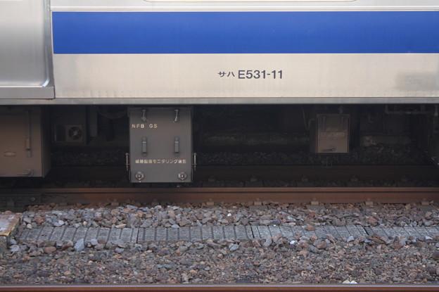 E531系 サハE531-11 線路モニタリング装置 (1)