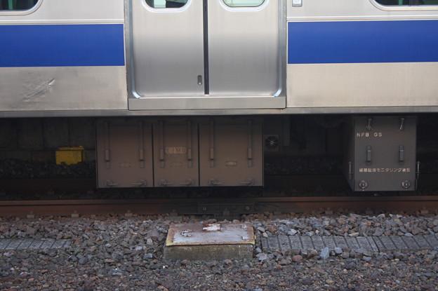 E531系 サハE531-11 線路モニタリング装置 (2)