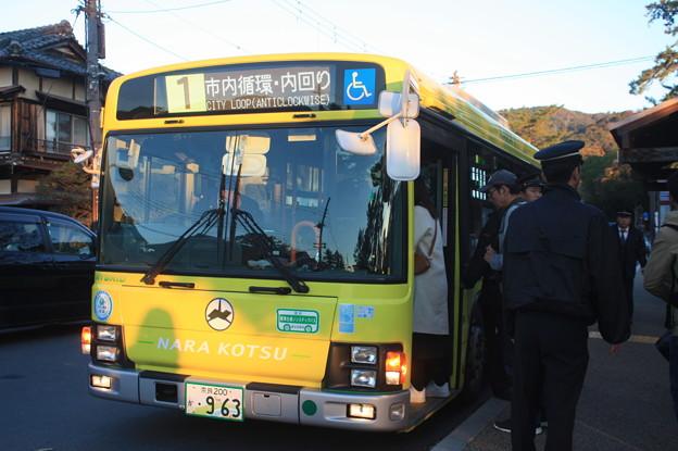 奈良交通 奈良200か963