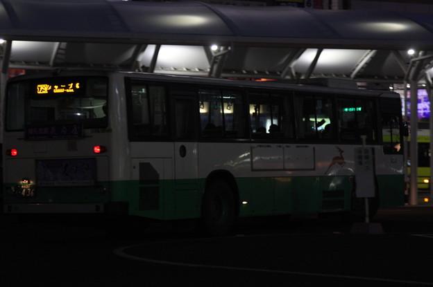 奈良交通 奈良200か436 リア側