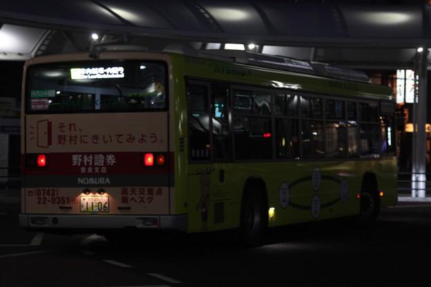 奈良交通 奈良200か1106 リア側
