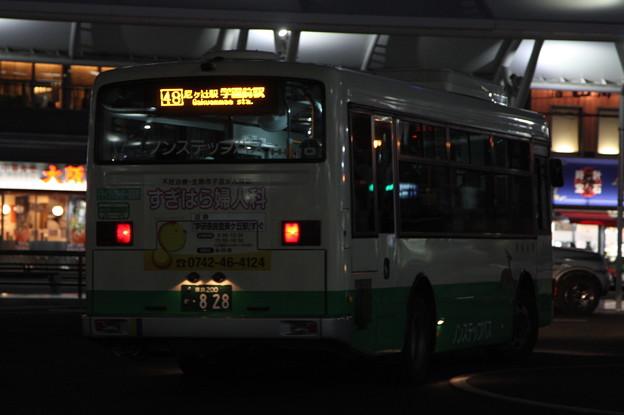 奈良交通 奈良200か828 リア側