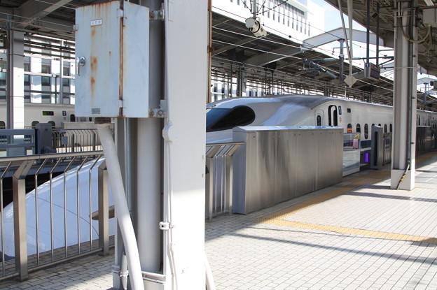 東海道新幹線 N700系1000番台(N700A)G25編成 京都駅発車