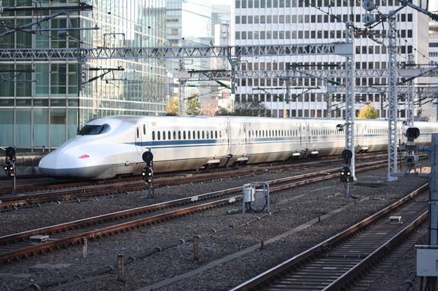 東海道新幹線 N700A 東京駅到着