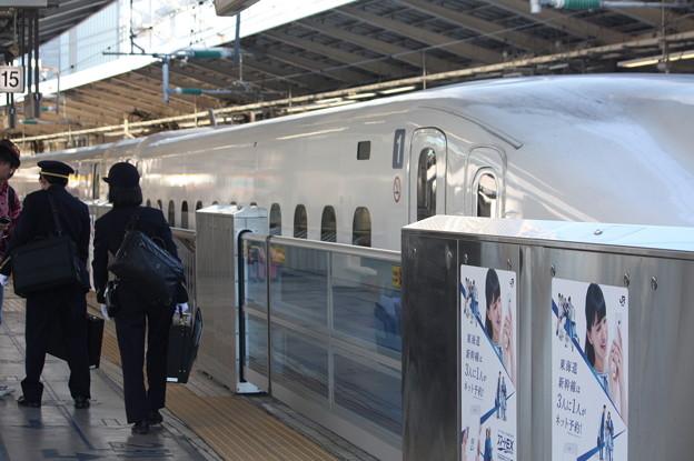 東海道新幹線東京駅で何となく撮ったもの (9)