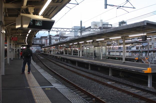 阪急京都線・嵐山線 桂駅 ホーム