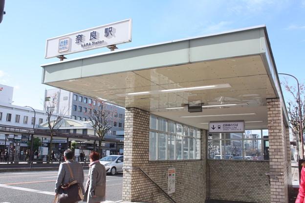 近鉄奈良線 近鉄奈良駅 出入口