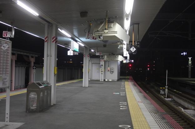 大和路線・奈良線 奈良駅4番のりば・5番のりばホーム