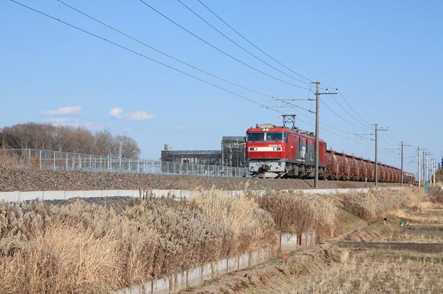 安中貨物 5094レ EH500-79+タキ1200形12B+トキ25000形4B
