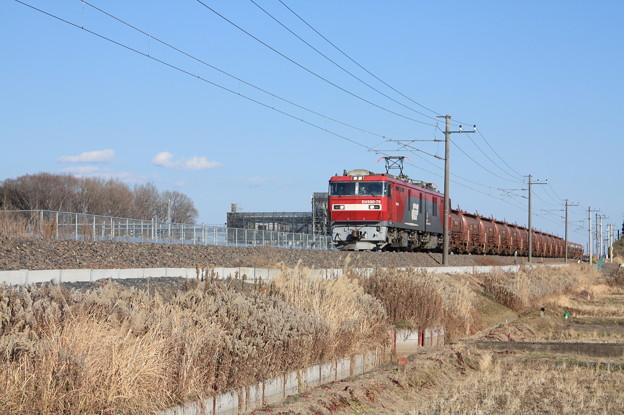 安中貨物 5094レ EH500-79+タキ1200形12B+トキ25000形4B (1)
