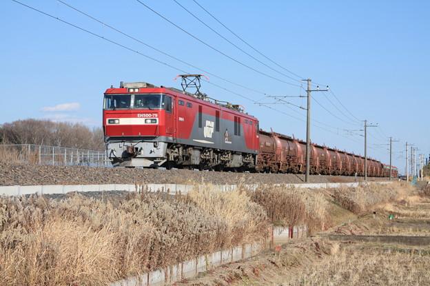 安中貨物 5094レ EH500-79+タキ1200形12B+トキ25000形4B (7)